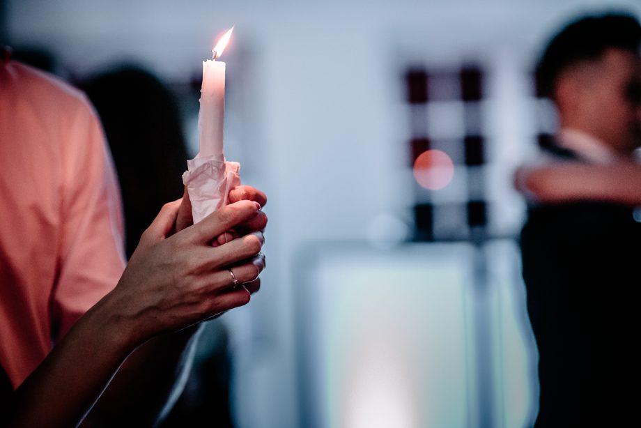 taniec ze świecą