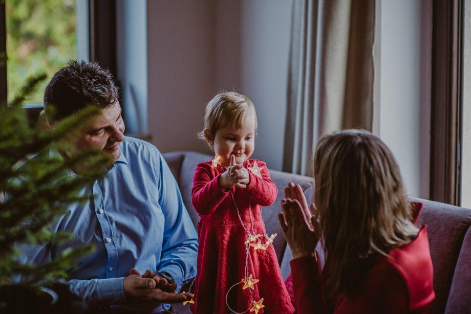 sesja świąteczna lifestyle
